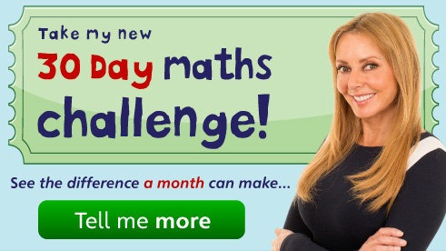 Take Carol Vorderman's 30 Day Maths Challenge